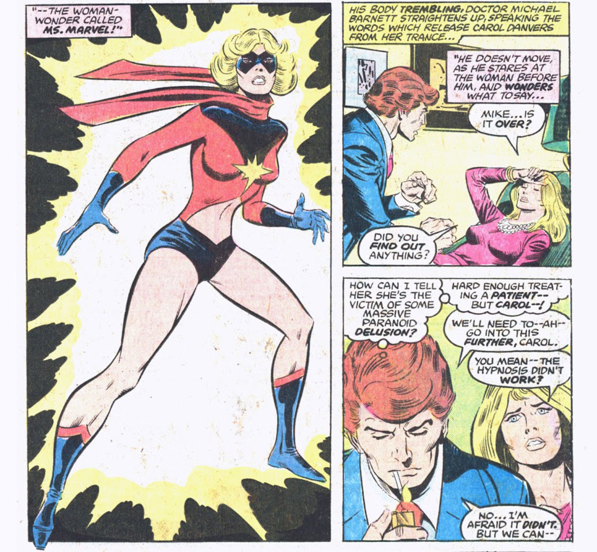 Origin of Ms. Marvel in Ms. Marvel #2