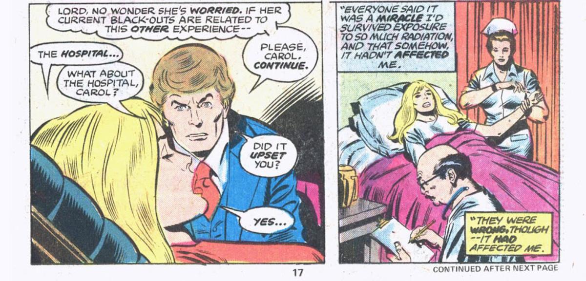 Origin of Ms. Marvel in Ms. Marvel #2