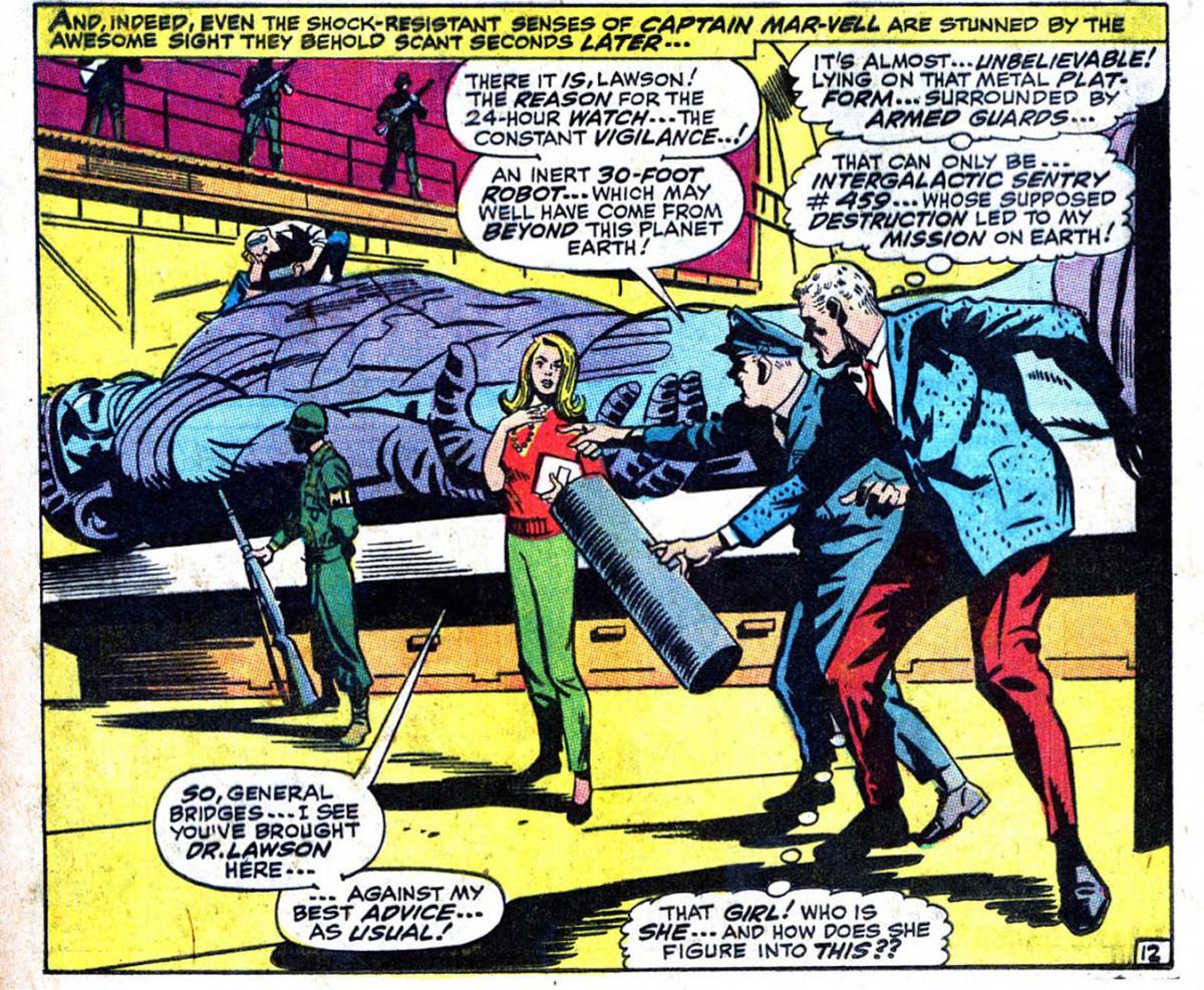 Intro of Carol Danvers