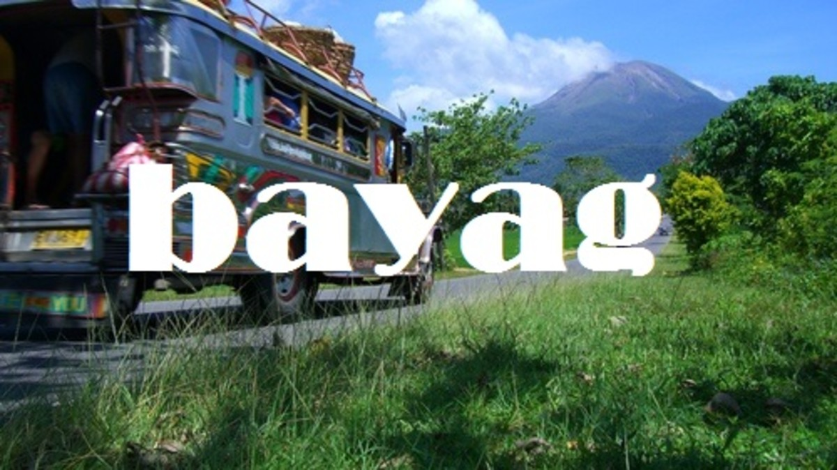 Bayag (taking a large amount of time; taking too long).