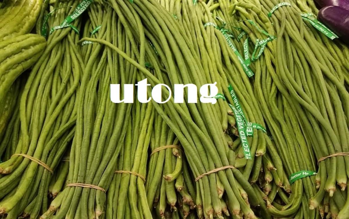 Utong (long beans).