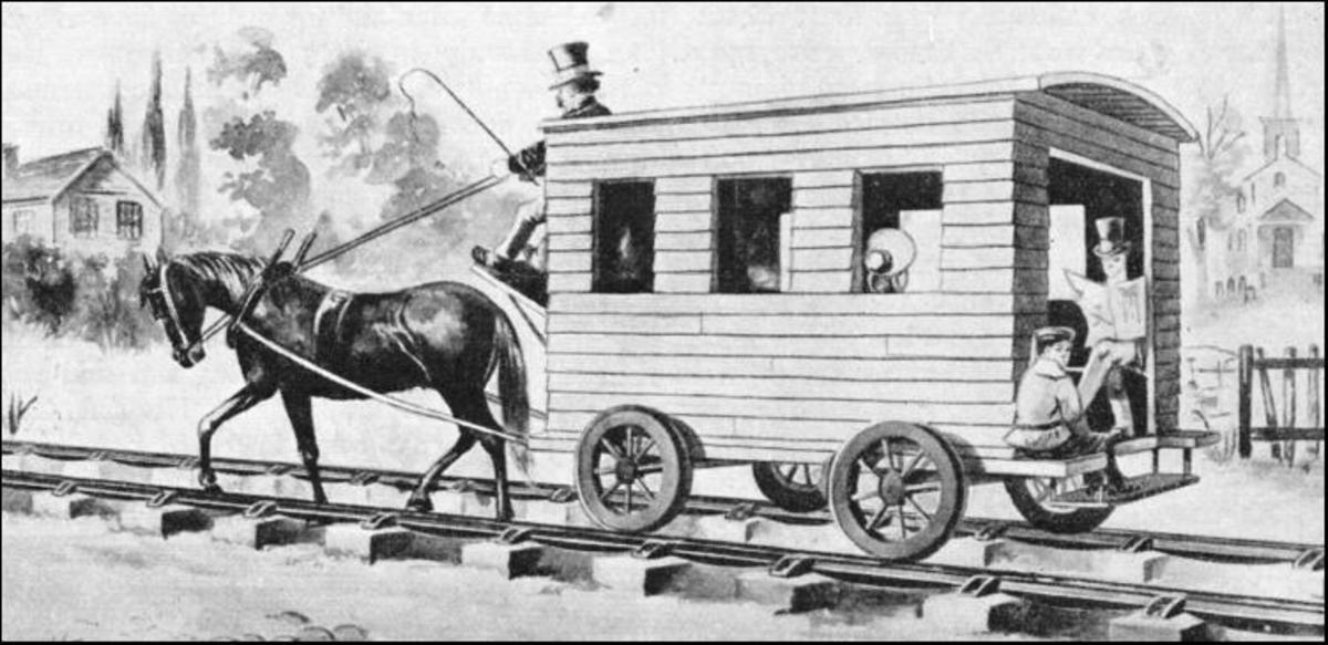 Similar transport for 3rd Class passengers would be seen on the W&PR