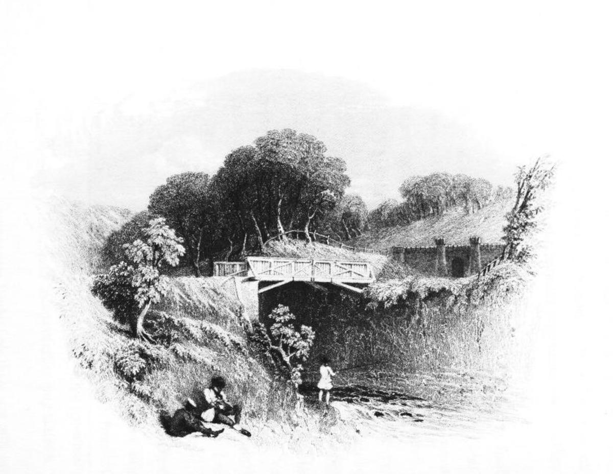 Grosmont - the first real obstruction saw contractors tackle the horse tunnel