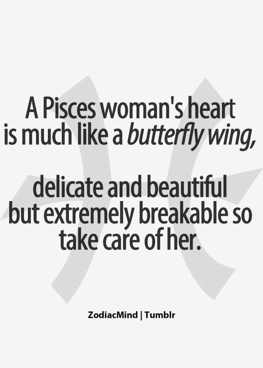 Pisces woman hard to get