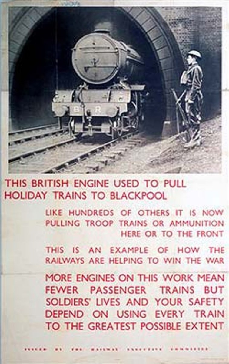 "This British engine was built for the job. Mixed traffic motive power was what it said 'on the box', mixed traffic often meant more freight than passenger. The V2 was one such engine, meant for heavy loads and known as ""The engines that won the war""."