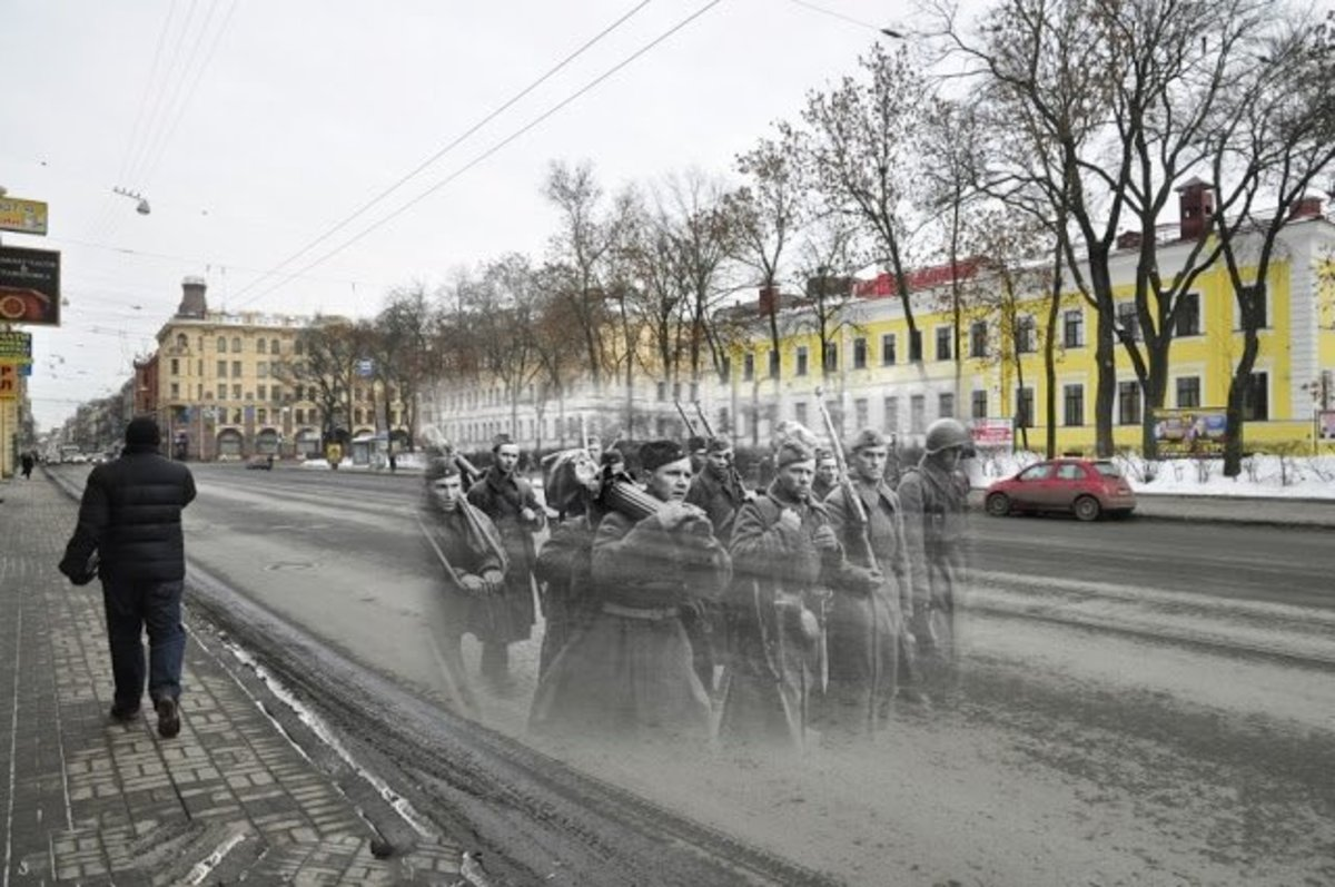 Ghosts of WW1 an WW2