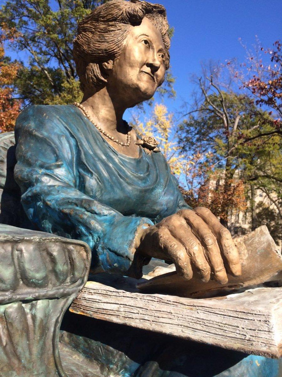 """""""Miss Nina"""" Miglionico in Linn Park, Birmingham, AL."""