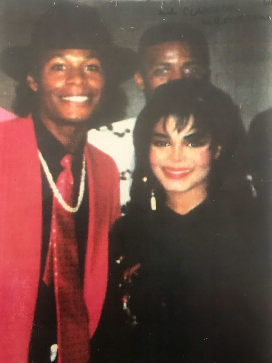 Dr. Ron with Janet Jackson