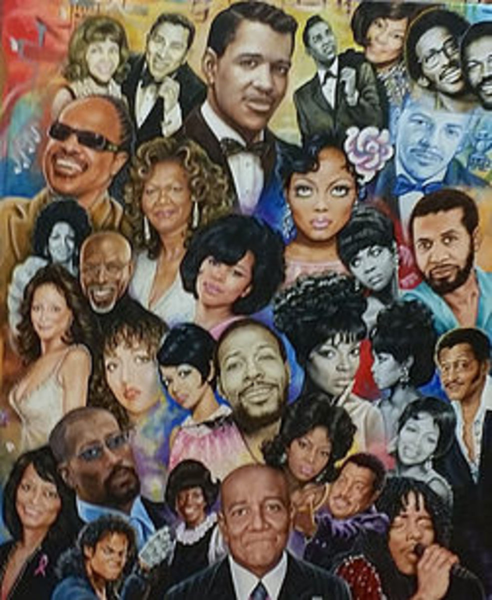 the Motown family of Artists!