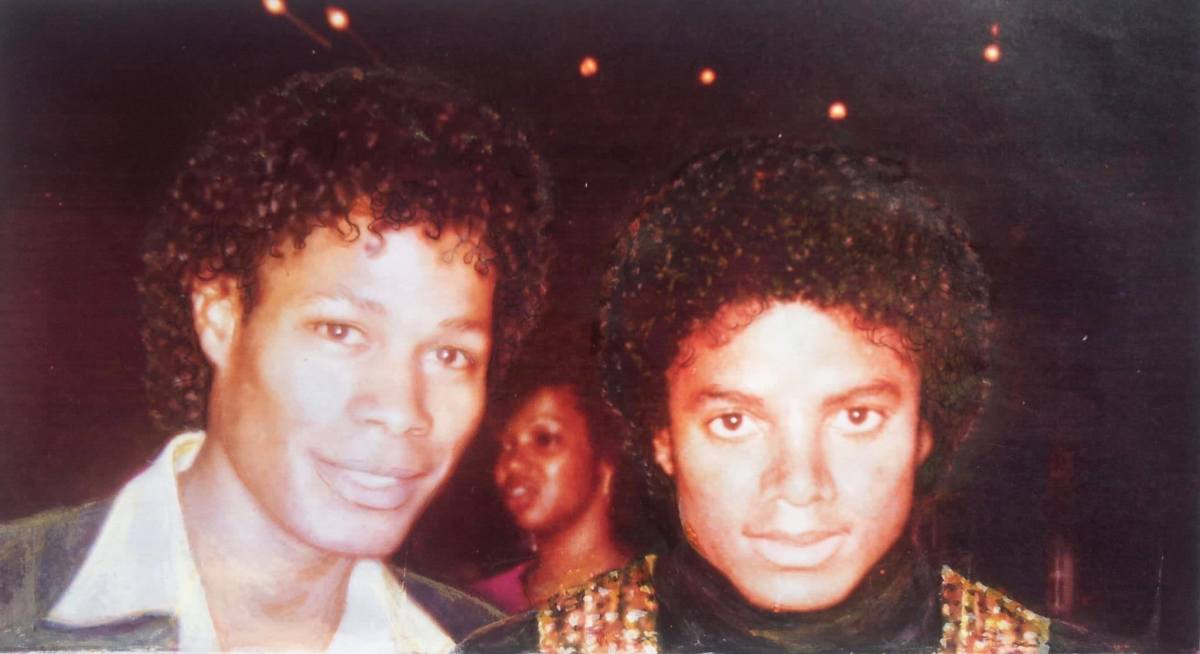 Dr. Ron with Michael Jackson