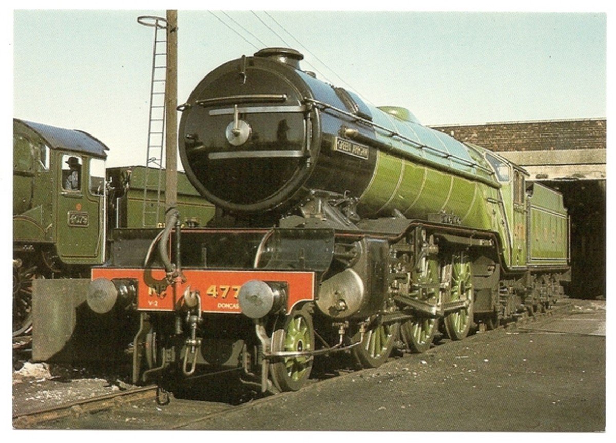 Class V2 'Green Arrow' was built as the showpiece to publicise the eponymous fast freight service from London to Edinburgh