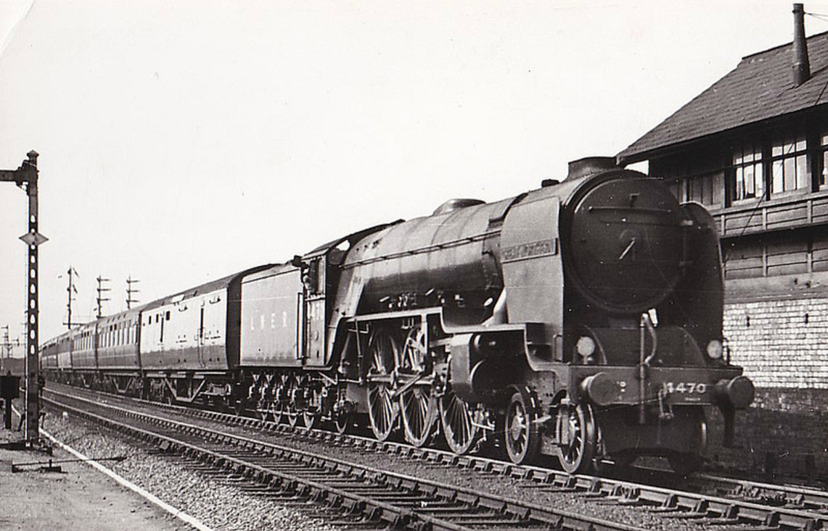 Class A1/1 was a rebuild of Gresley's A1, later rebuilt to A3. There were howls of derision amongst the pro-Gresley camp, although the engine was given a new lease of life