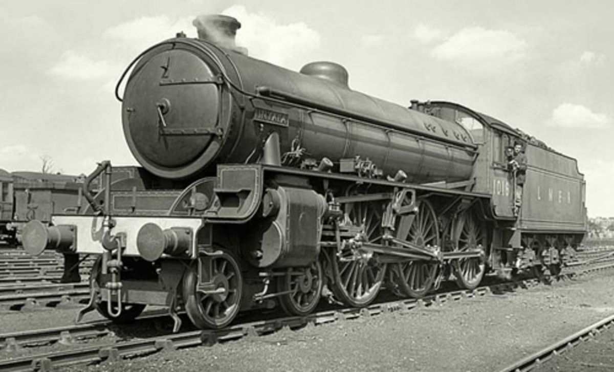 Class B1 was Thompson's 'nod' to the mixed traffic fleet, newly built in the later years of WWII. Several have been preserved as representatives of a locomotive popular with crews