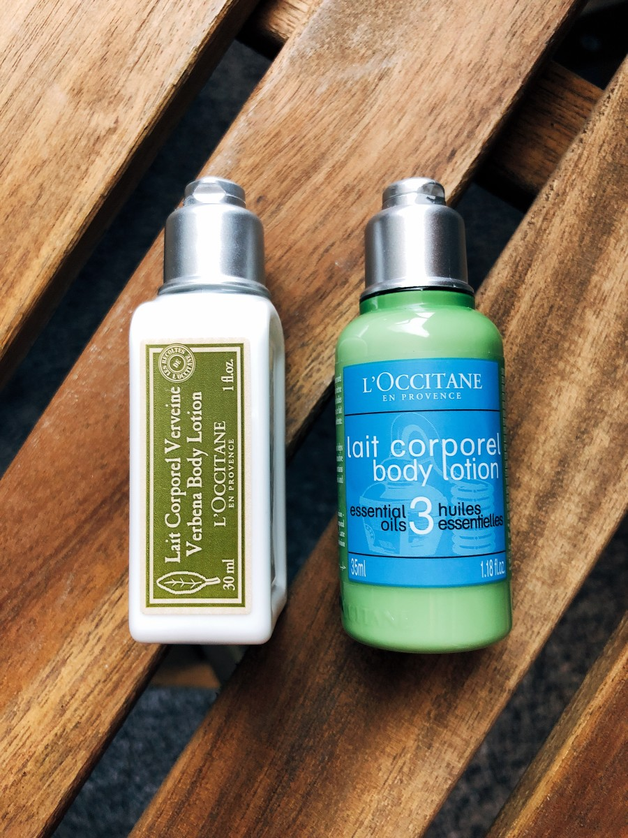 When I travel, my hands seem to reach peak dryness. So, I bring moisturizer or lotion that will give my hands the hydration they need in order to to face the change in weather, in addition to super drying airline cabin.