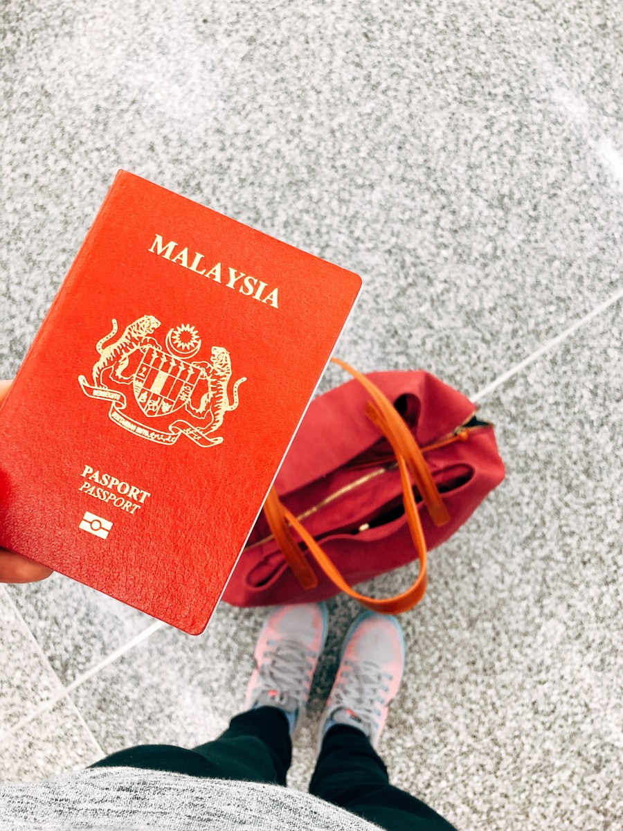 Passport is a must! It's like a holy grail for a traveler.