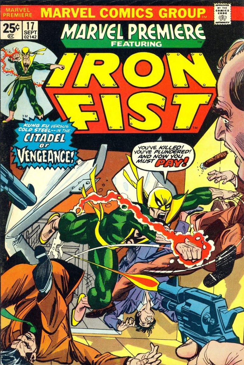 1st appearance of Colleen Wing in Marvel Premiere #17.