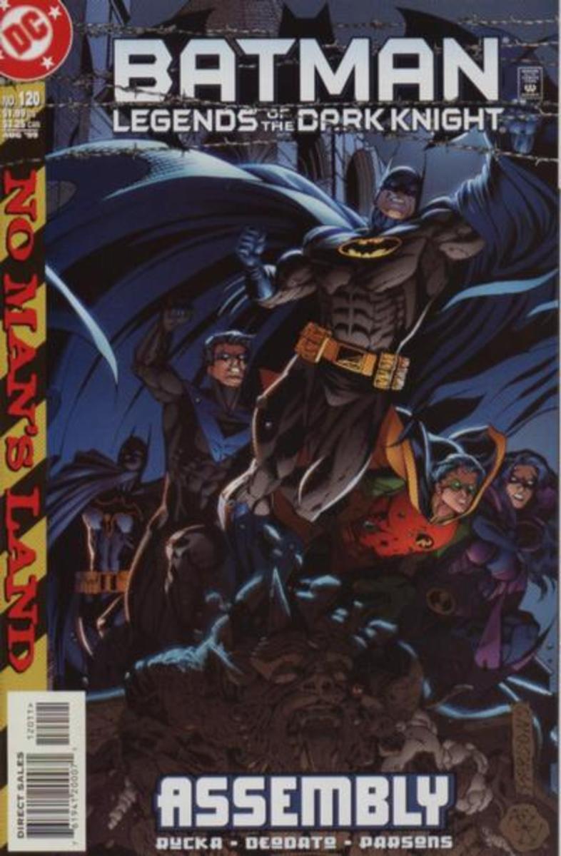 Legends of the Dark Knight #120 - 1st Cassandra Cain as Batgirl.