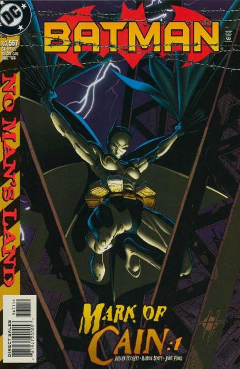 Batman #567 -1st appearance of Cassandra Cain.