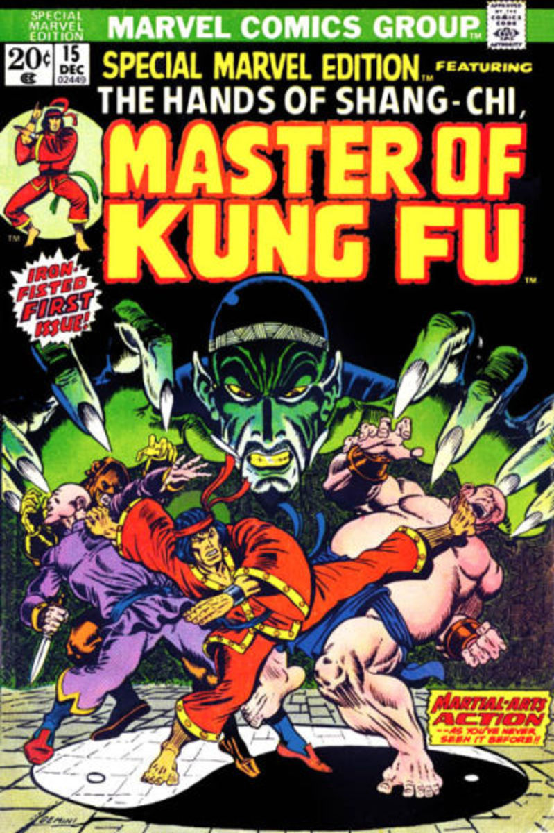 1st appearance of Shang Chi