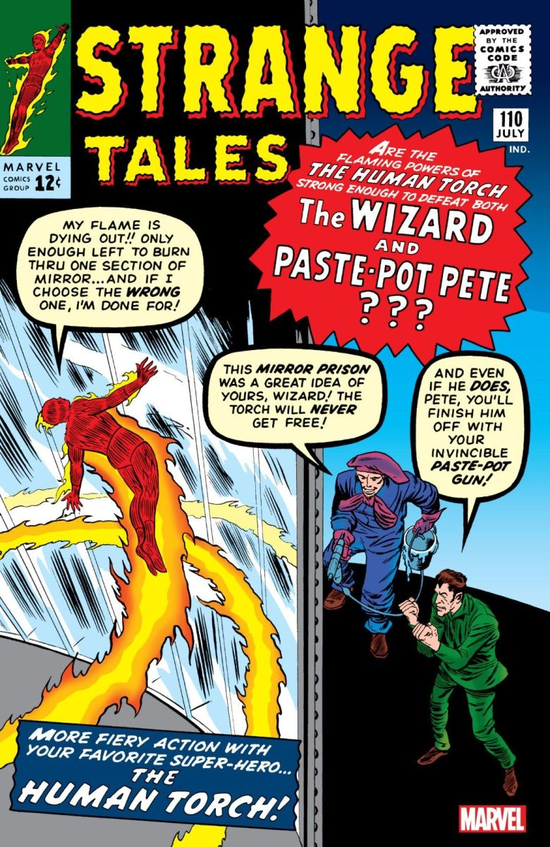 1st appearance of The Ancient One in Strange Tales #110.