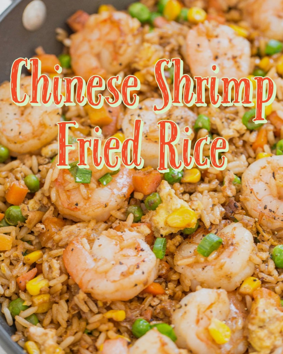 Easy Chinese Shrimp Fried Rice Made at Home
