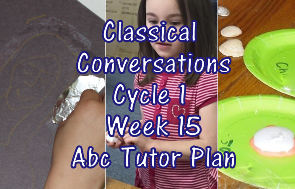 Classical Conversations Cycle 1 Week 15 Abc Tutor Lesson