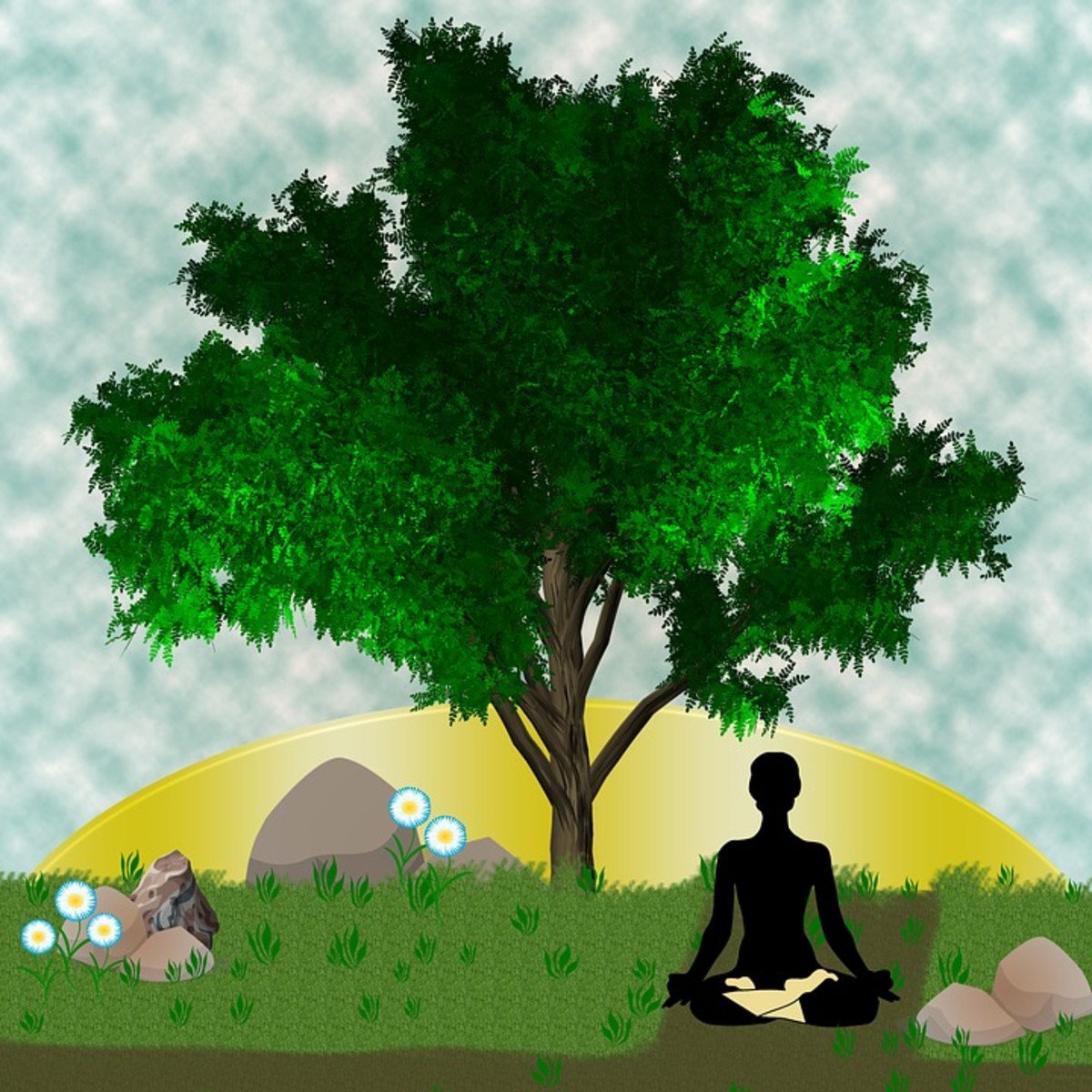 Yoga meditation may open a Christian's mind to an alternate power source.