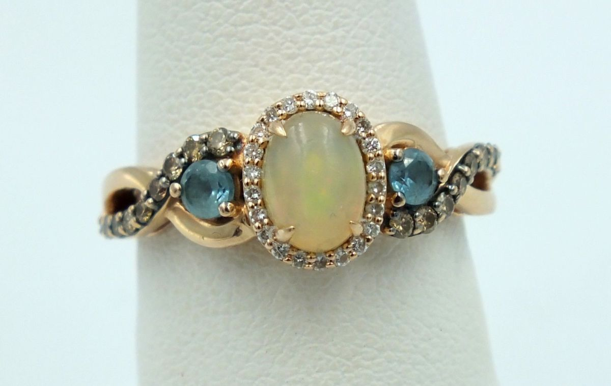 """A picture of a """"Neopolitan Opal"""". Compare it to the first picture in this article to see the stark difference."""