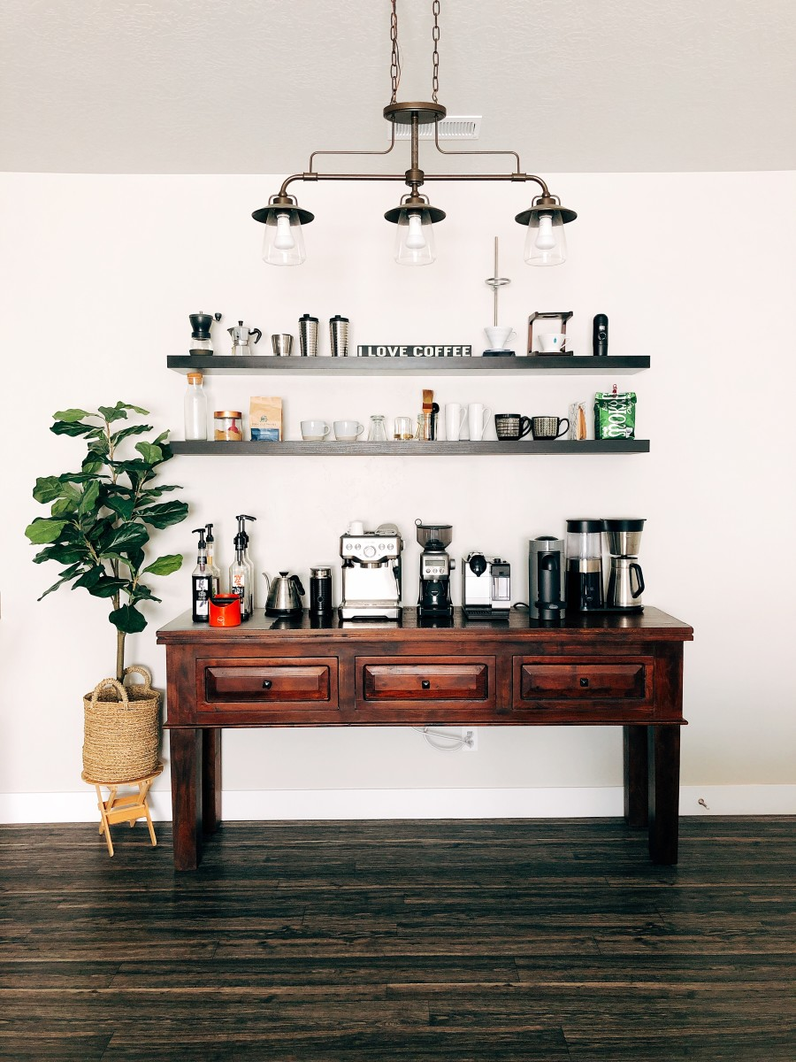 How Coffee Bar at Home Saved Us a Lot of Money