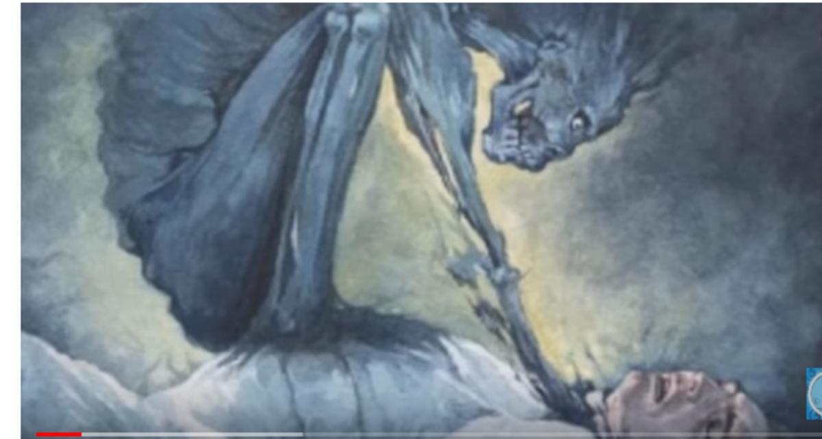 Sleep paralysis can cause hallucintons