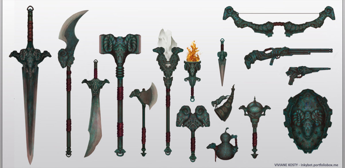 Ancient Weapons of War in the Armory