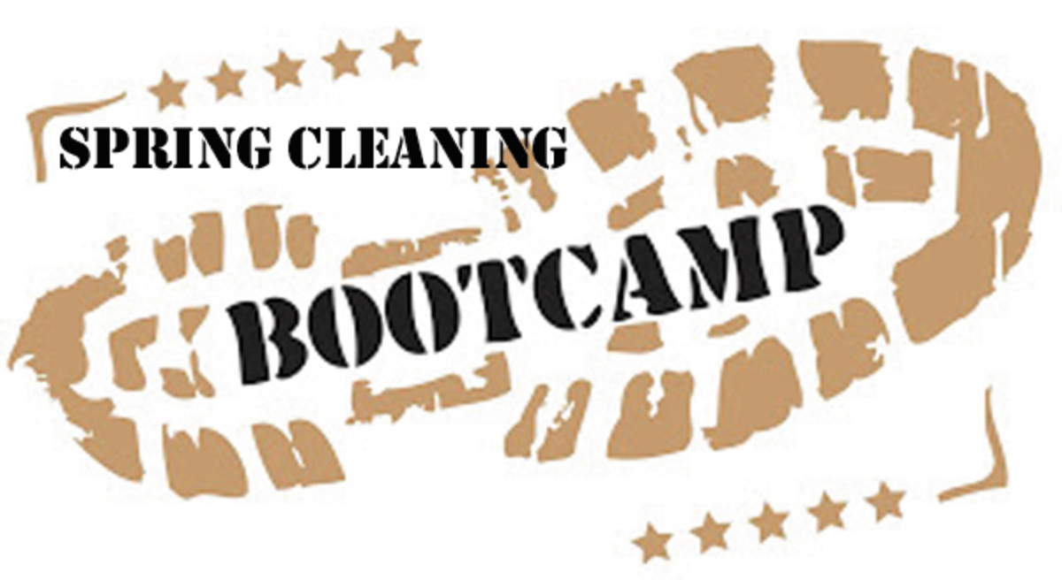 Spring Cleaning Boot Camp