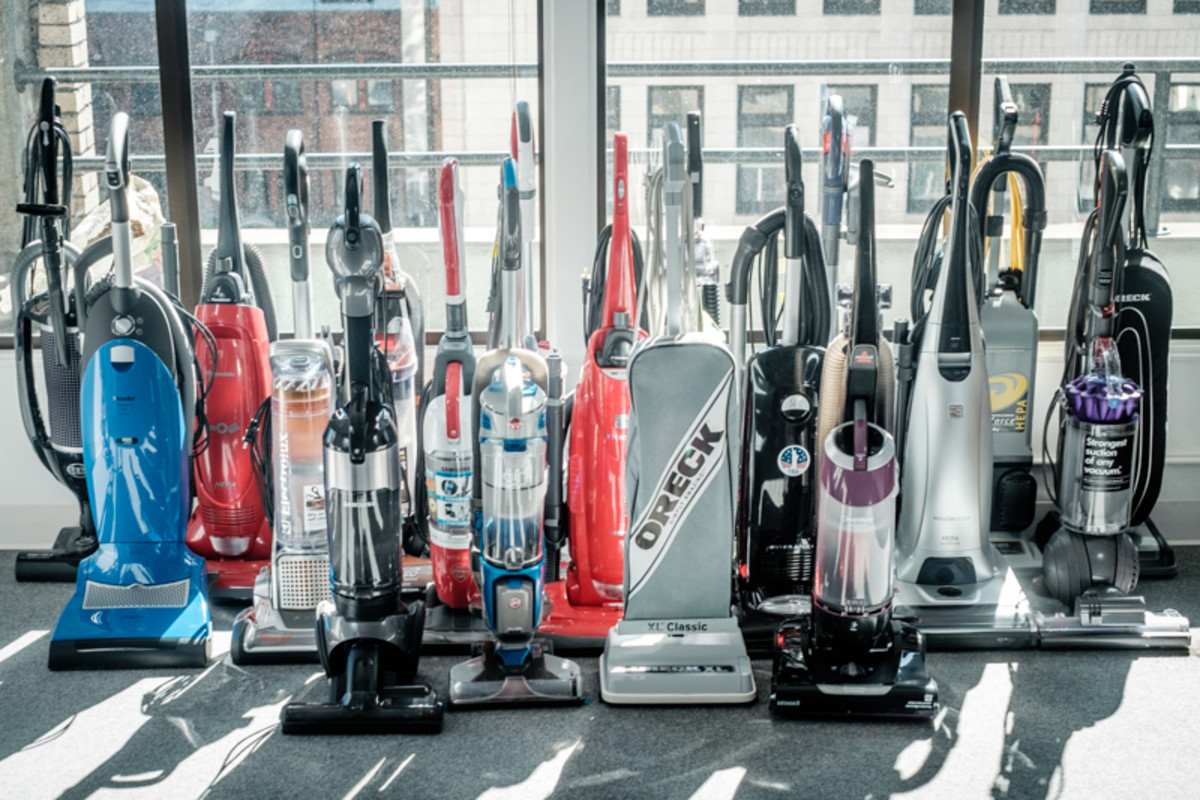 There are many vacuum cleaners that can handle pet hair, wood floors, carpets and even wet spills.