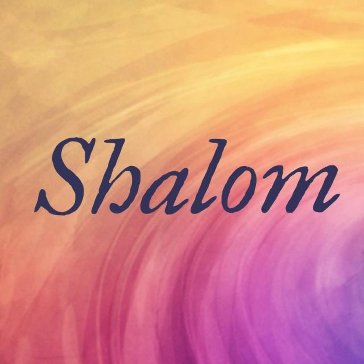 Shalom: A Bible Word Study