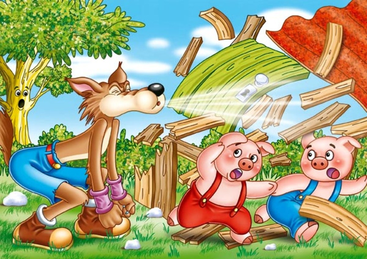 The Three Pigs and The Big Bad Wolf