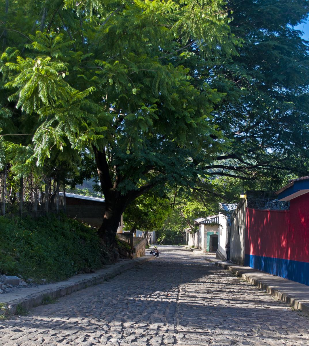 The sleepy little pueblo of Sabana Grande today.
