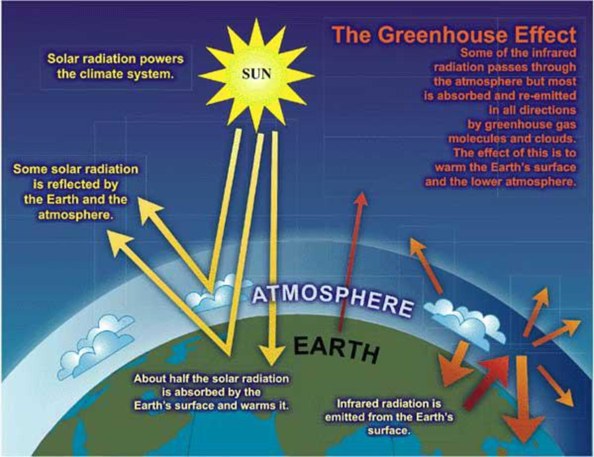 CLIMATE CHANGE DUE TO THE GREENHOUSE EFFECT AND ACID RAIN
