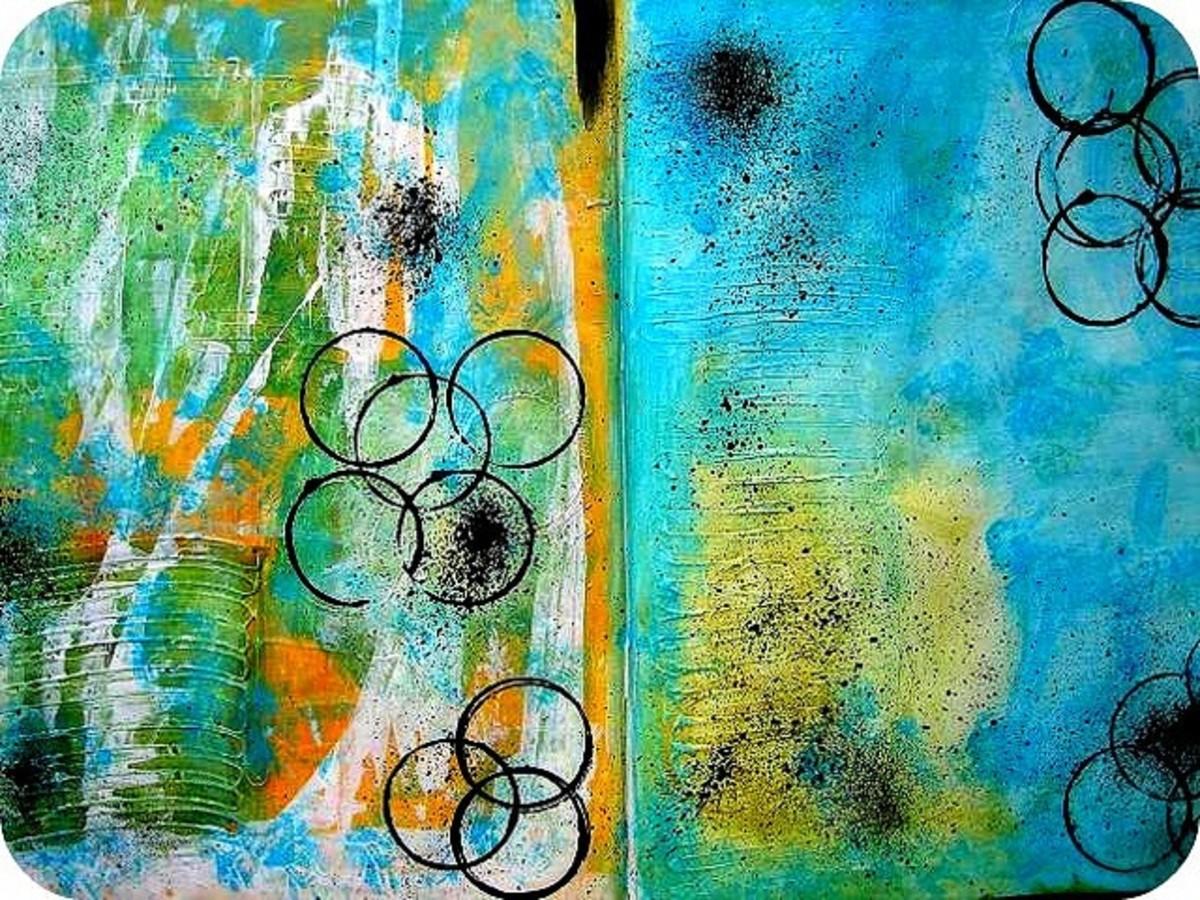 Art Journal Background Ideas
