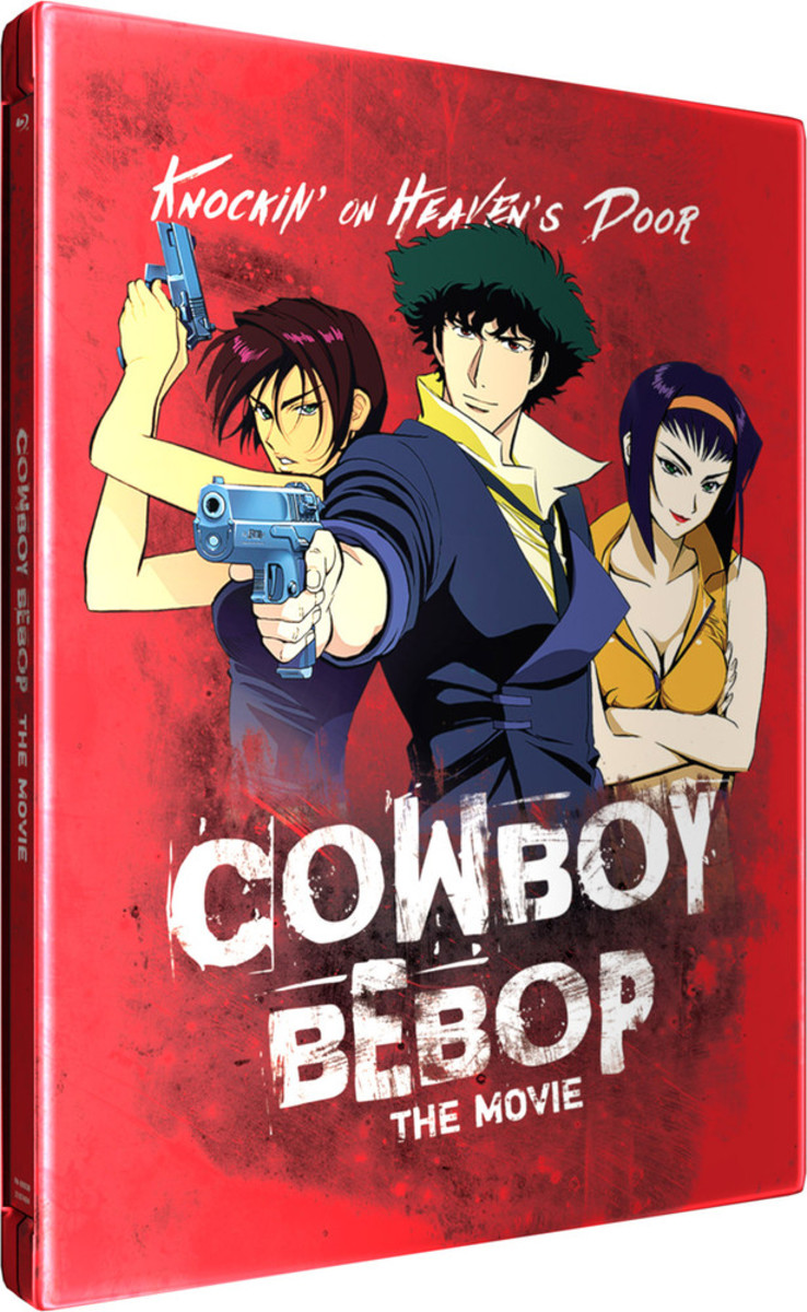 Cowboy Bebop Funmation blu-ray cover.