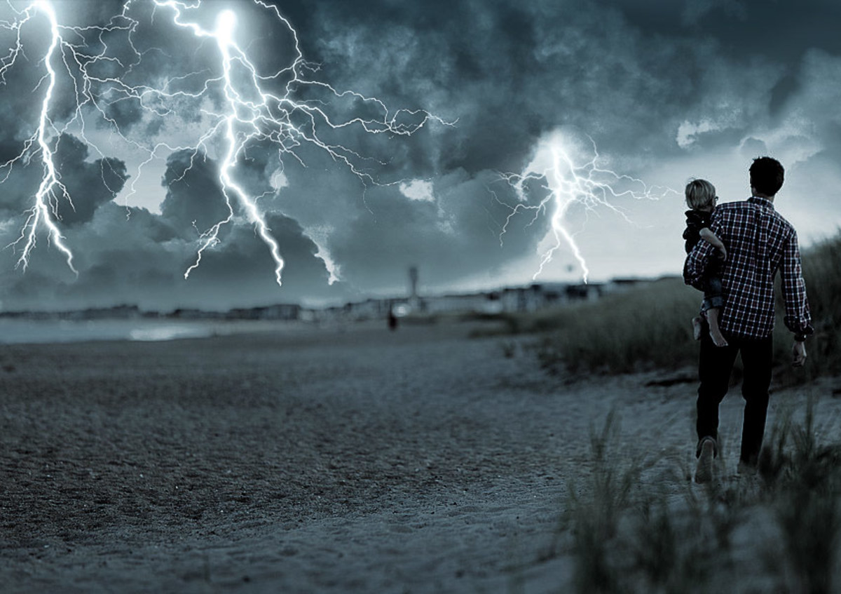 Create a Lightning Storm in Photoshop