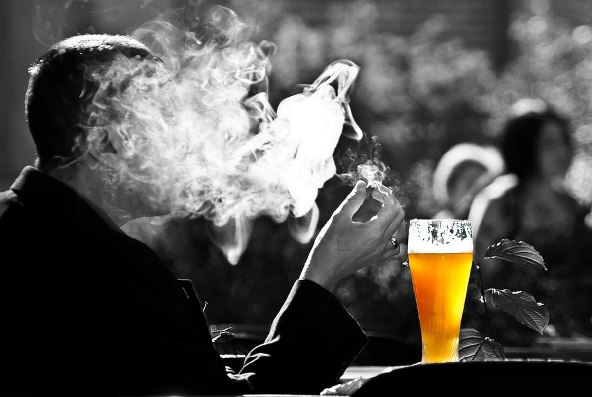 Smoking and drinking affect bone health