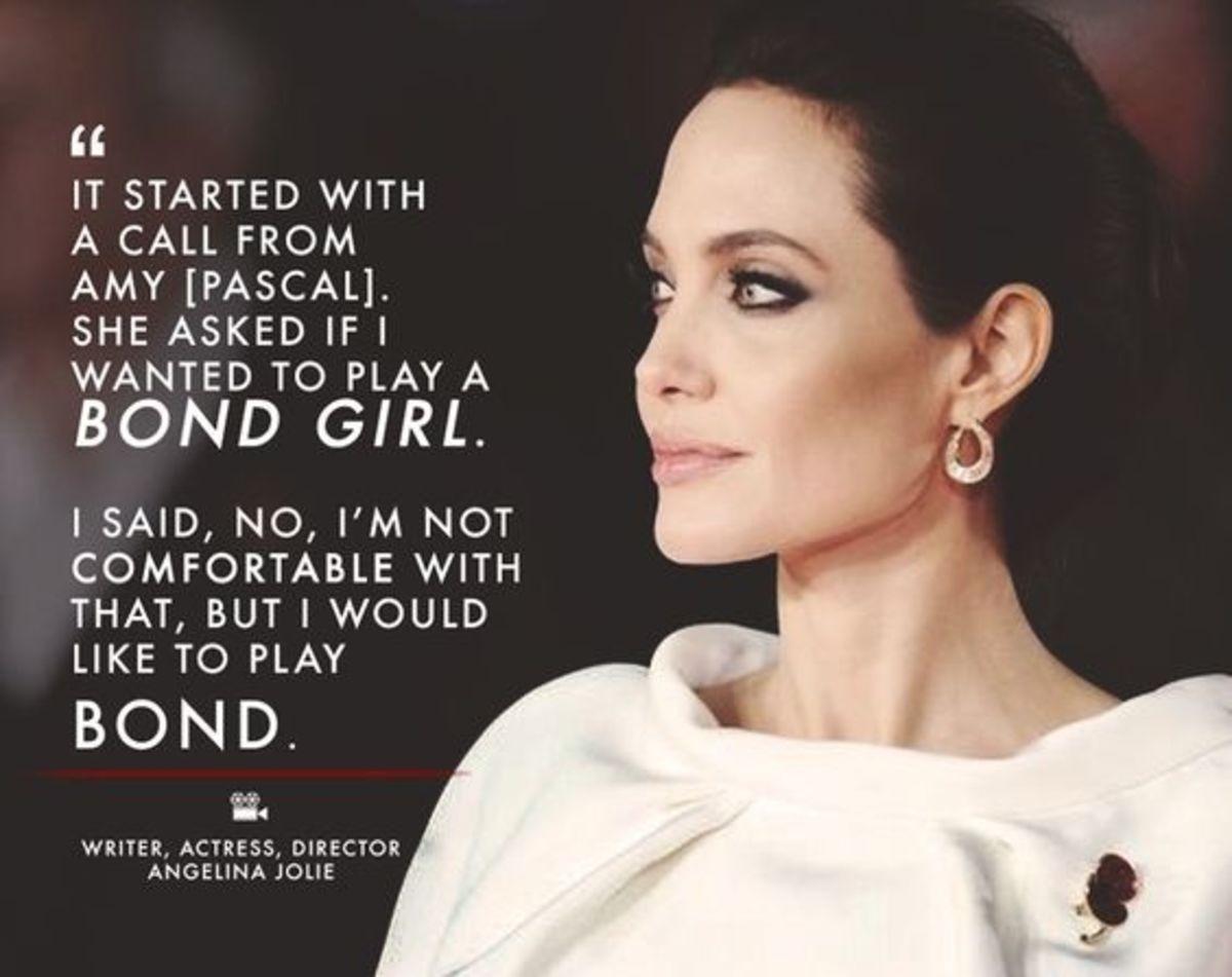 Angelina Jolie Insights on Love, Life, Humanity.
