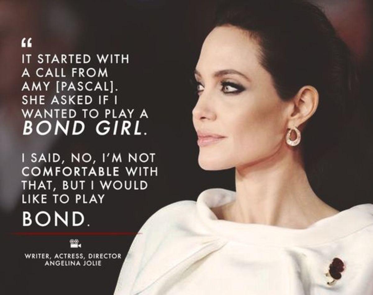 Angelina Jolie Insights on Love, Life, Humanity.