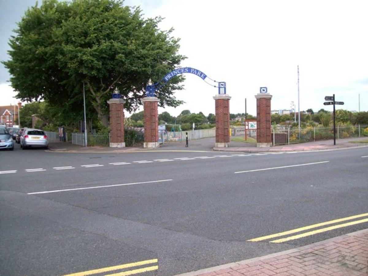 Princes Park entrance
