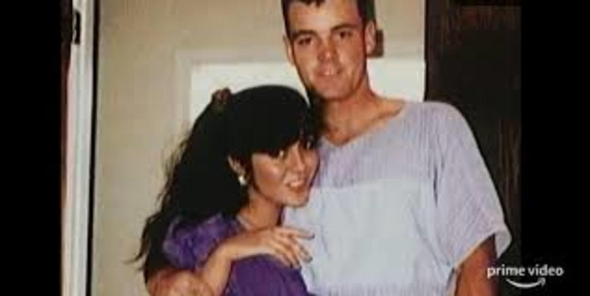 Wayne and Lorena Bobbitt a handsome couple in happier times.