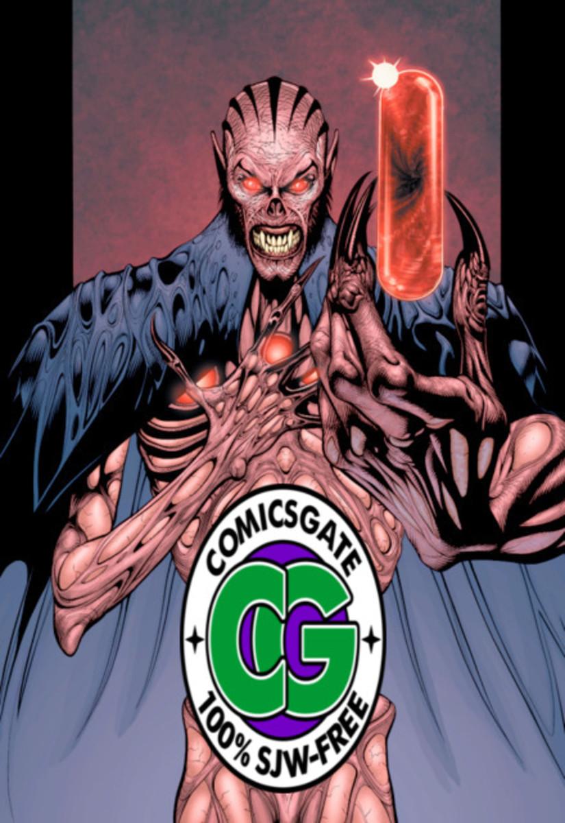 Supervillain Mandrakk Supports Comicsgate. Don't be like Mandrakk.
