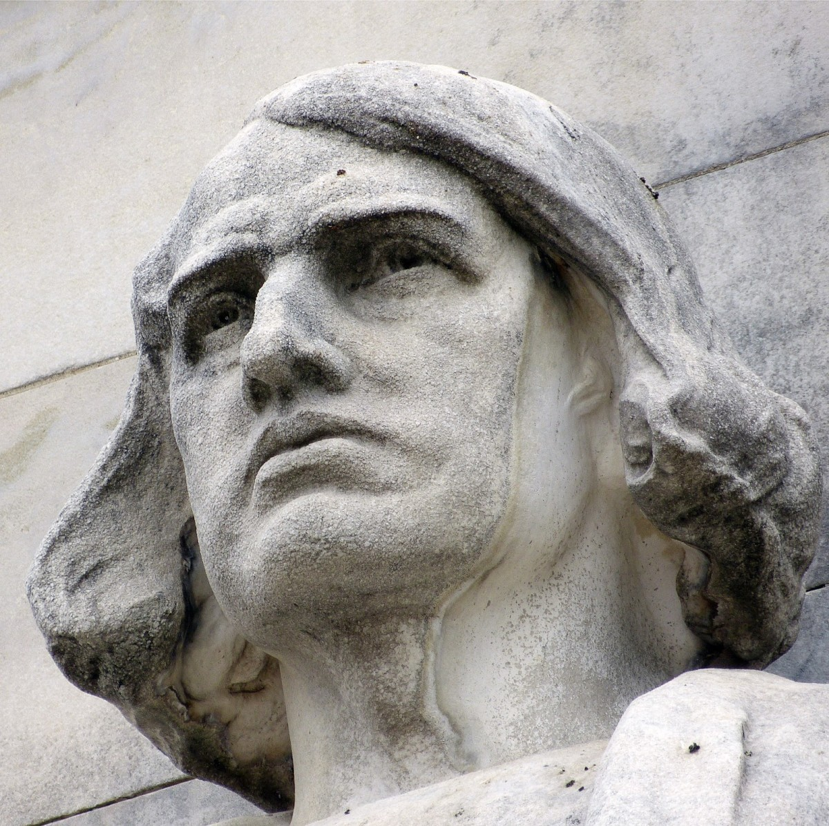 Bust of Christopher Columbus