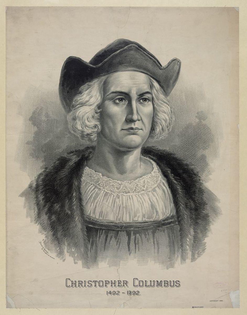 Christopher Columbus Portrait (1892)