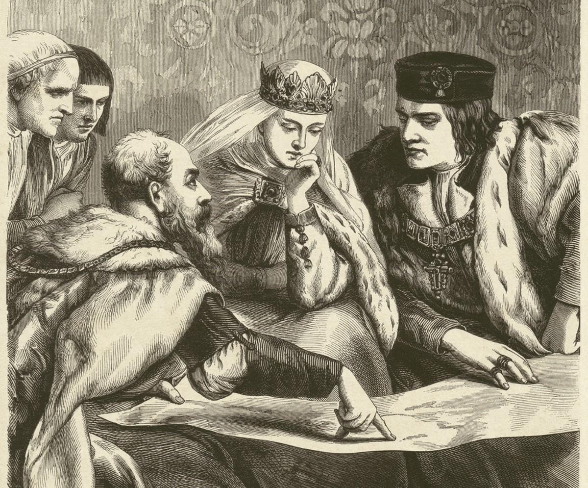 Columbus, Ferdinand & Isabella