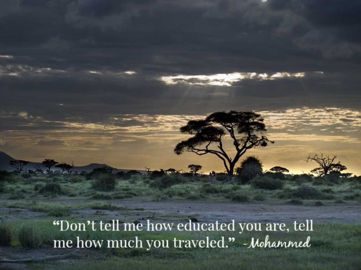 Travelling is a great way to discover things